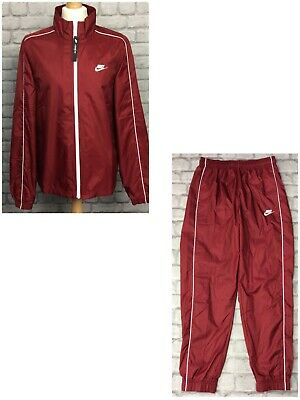 Nike Mens Red Slayer Woven Poly Full Zip Track Top Track Pants *sold Separately* • 32.50£