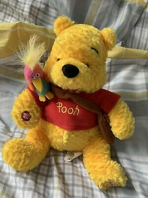 £12 • Buy Disney Store Stamped Exclusive Winnie The Pooh Nature Walk Soft Toy