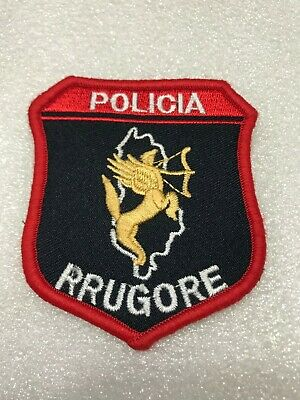 $ CDN13.36 • Buy Albania Original  Police Patch   Road Police   New Model Badge