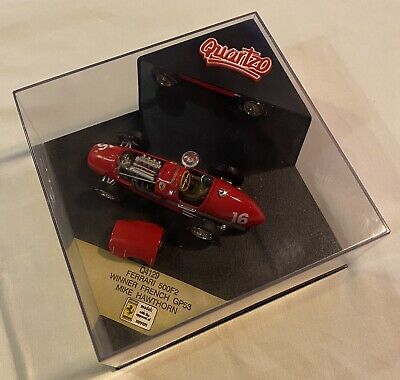 1:43 Quartzo Q4129 Mike Hawthorn Ferrari 500F2 Winner French Grand Prix 1953 • 15£
