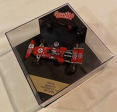 1:43 Quartzo Q4122 Niki Lauda March 711 Austrian Grand Prix 1971 Limited Edition • 20£