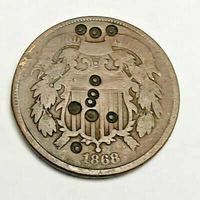 $ CDN12.05 • Buy 1868 Two (2) Cent Piece   *good Details*   *free Shipping*