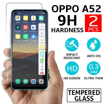 AU2.99 • Buy NEW Tempered Glass For OPPO A52 Screen Protector 9H Coverage Thin Film AU STOCK