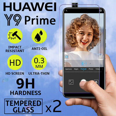 AU2.99 • Buy NEW Tempered Glass For HUAWEI Y9 Prime Screen Protector 9H Thin Coverage Film AU