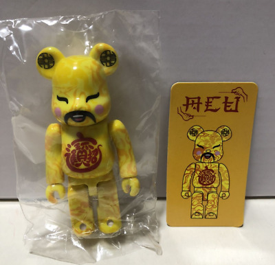 $325 • Buy Bearbrick Series 35 Edison Chan Clot God Of Wealth Medicom Toy With Box & Card