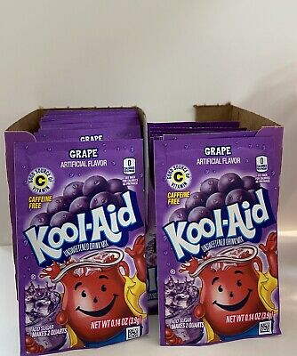 American Kool Aid Grape X 5 Sachets Good Source Of Vitamin C USA Made • 6.99£