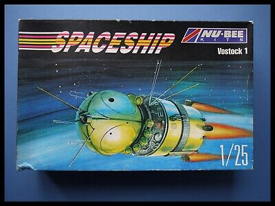 NU-BEE KITS Russian Spaceship Russia's First Spacecraft Vostok 1 1:25 Model Kit • 69.95£