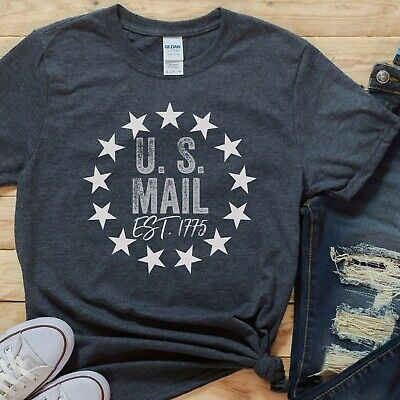 $23.95 • Buy U.S. Mail Shirt Cute Mail Carrier T-Shirt United States Postal Worker Shirt Gift