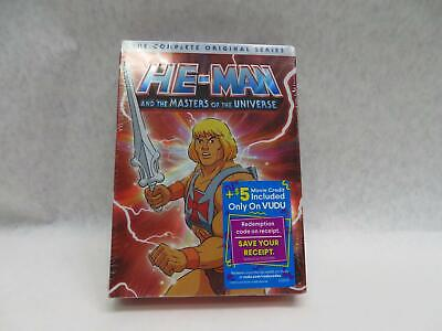 $35.20 • Buy He-Man And The Masters Of The Universe: The Complete Original Series (DVD, 2019)