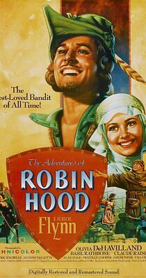 The Adventures Of Robin Hood (1938) Classic Movie - Errol Flynn - DVD  • 2£