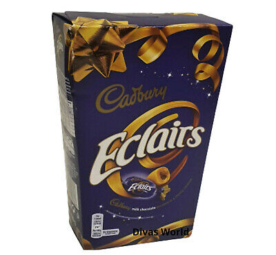 £7.95 • Buy CADBURY Chocolate Eclairs Milk Chocolates With Caramel 420g Gift Boxed