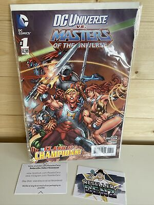 $6.92 • Buy DC Universe Vs Masters Of The Universe #1 1st Print Cover B October 2013 VF+ 8.5
