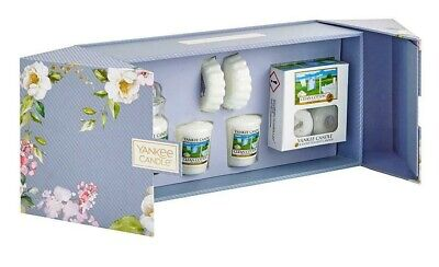 Yankee Candle Clean Cotton Fragrance Or 10 Tealights & 1 Holder PERFECT GIFT • 15.99£