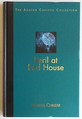 AGATHA CHRISTIE Collection #15 - PERIL AT END HOUSE - Hardback & Magazine • 5.99£