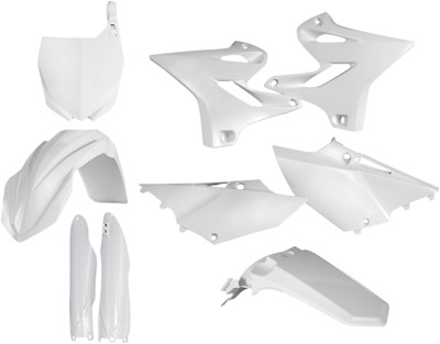 AU208.48 • Buy Acerbis Plastic Fender Body Kit White Yamaha YZ85 2015-2016