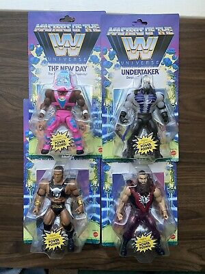 $89.99 • Buy Masters Of The WWE Universe The Rock Undertaker Braun Strowman New Day Unpunched