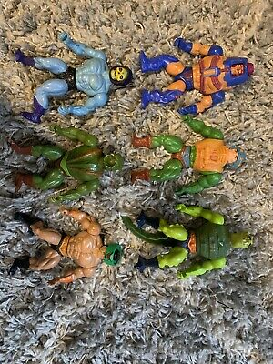 $79 • Buy Lot Of 6 Vintage 80s He Man Master Of The Universe Mattel Action Figures