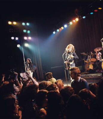 Jim Lea And Noddy Holder Of Slade On Stage In 1975 OLD MUSIC PHOTO • 4.63£