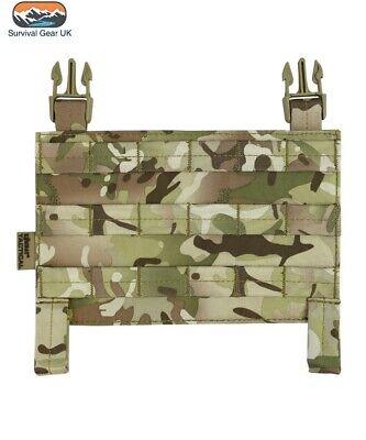 BTP Camo Buckle Tek Tactical Molle Panel Airsoft Compatible With All Systems • 9.95£