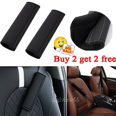 UK Car Seat Belt Cover Pads Car Safety Cushion Covers Strap Pad For Adults Kids • 2.89£