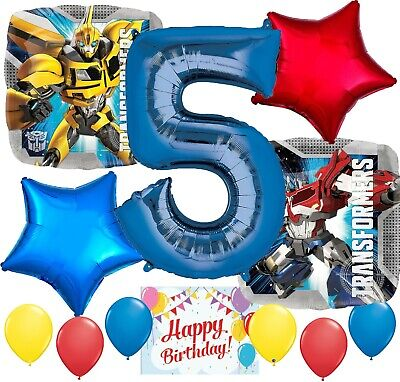 £11.38 • Buy Transformers Bumble Bee Party Supplies Balloon Bundle For 5th Birthday