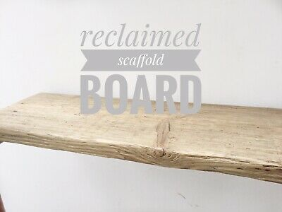 800mm Large Reclaimed Scaffold Boards Shelves Rustic Sanded Down Scaffold Boards • 18.49£