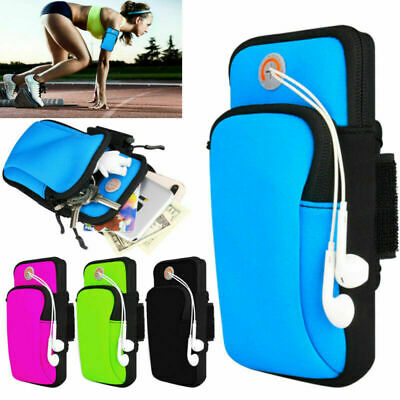 AU12.99 • Buy Sports Armband Running Jogging Gym Arm Band Pouch Mobile Phones Holder Bag Case
