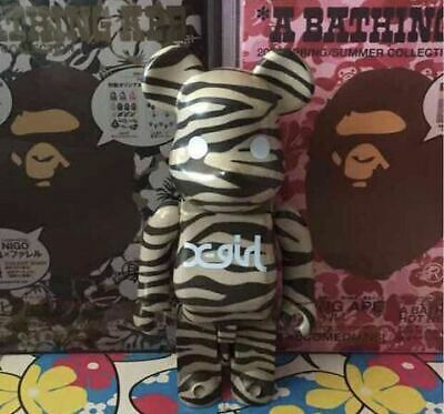 $208.85 • Buy X Girl Bearbrick 400 Kubrick X-Girl Be Rbrick Designer Toys Creator Pvc Figure