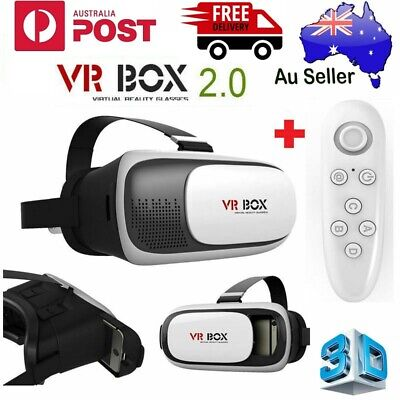 AU29.98 • Buy Virtual Reality Headset VR Box Goggles 3D Glasses For Android LOS LPhone