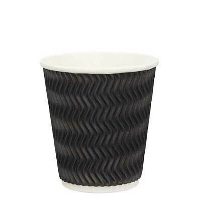 AU23.50 • Buy Coffee Cups 12oz Takeaway Paper Ripple Wall Bulk 100 Pack  Without Lids