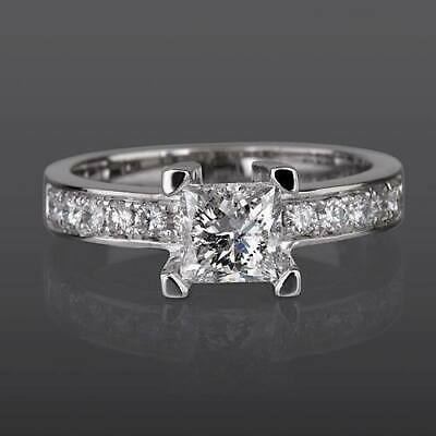 $ CDN3141.98 • Buy 1 1/2 Carat Si Real Diamond Engagement Ring W Accents Size 5.5 6 6.25 6.5