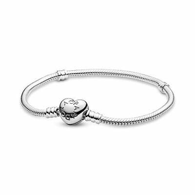Pandora Women's 925 Sterling Silver Bracelet Of Length 20 Cm - 590719-20 • 88.42£