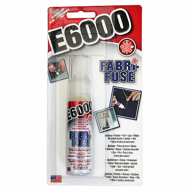 £5.45 • Buy E6000® Fabri-Fuse Glue 59ml In Package For All Type Of Fabric & Decorative Items