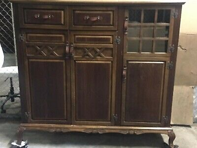 AU150 • Buy Solid Wooden Wardrobe/cupboard - Large  Local Pickup Only