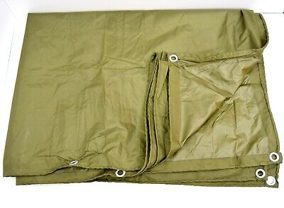 Dutch Army Large Waterproof Tarp Basha Shelter Sheet Bivi Ground Cover Tarpaulin • 54.50£