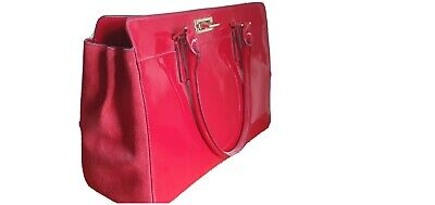 Hobbs Kensington Red Patent Bag • 65£