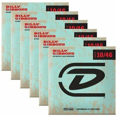 $ CDN59.17 • Buy Dunlop Rev. Willy's Electric Guitar Strings 10-46 Box Of 6 Sets