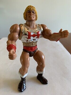$29.99 • Buy MOTU He-Man Flying Fists Vintage 1985 Figure RARE Masters Of The Universe