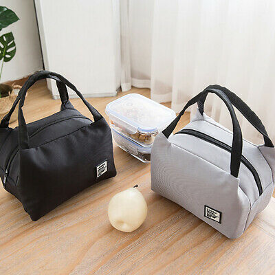 Insulated Cold Canvas Picnic Carry Case Thermal Portable Lunch Bag Storage Box • 3.07£