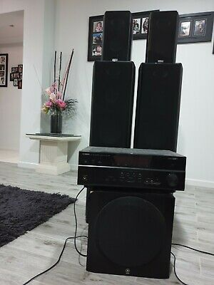 AU400 • Buy Yamaha & Tauris Surround Sound Speaker System