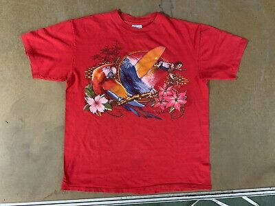 $ CDN60.66 • Buy Vintage Hobie T-Shirt 70s? Single Stitch USA Parrot Surf Beach Islander