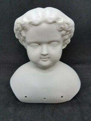 $ CDN33.32 • Buy Porcelain Bisque Doll Parts Woman's Head Replacement Doll Hospital 5.5 Inch