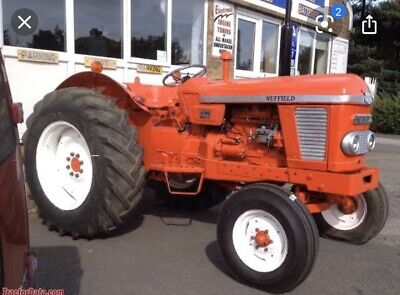 AU2000 • Buy Vintage Collectors Nuffield Tractor 465 Diesel Suit Restoration Project Rare