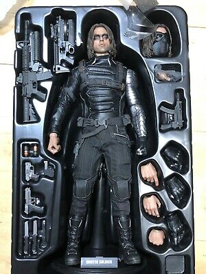 """$ CDN561.25 • Buy Hot Toys MMS241 Captain America: The Winter Soldier 1/6 Scale 12"""" Marvel Mms 241"""