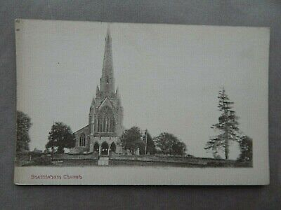 Snettisham Church  Vintage Matt  Postcard  Norfolk  • 4£