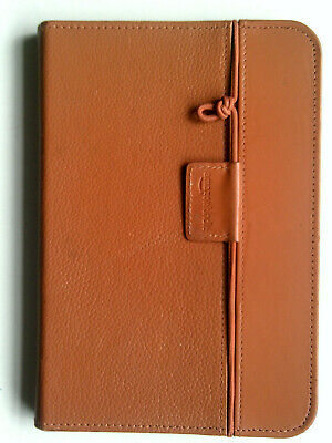Amazon Kindle Keyboard Light Tan Leather Lighted Cover Case • 14.99£