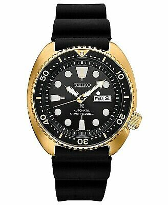 $ CDN464.02 • Buy Seiko Prospex SRPC44 Turtle Diver Automatic Watch 200 Meter Gold Tone Silicone