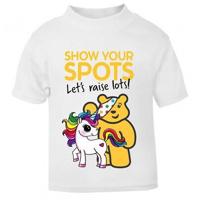 Children In Need 2020 Charity T-Shirt Unisex T-Shirts For Adults Pudsey Unicorn  • 12.99£