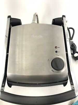 Breville Panini Sandwich Press & Grill BGR200XL Stainless Steel Non Stick Works • 31.93£
