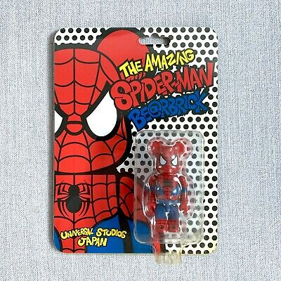 $84.99 • Buy The Amazing Spiderman Bearbrick - Medicom Be@rbrick 100% Universal Studios Japan